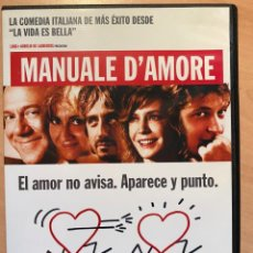 Cine: MANUALE D'AMORE (DVD). Lote 194583932