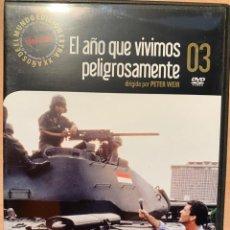 Cine: EL AÑO QUE VIVIMOS PELIGROSAMENTE (DVD). Lote 194588056