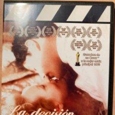 Cine: LA DECISIÓN DE SOPHIE (DVD). Lote 194588285