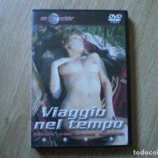 Cine: DVD PORNO. VIAJE EN EL TIEMPO. ORIGINAL. PERFECTO VISIONADO. Lote 194591180