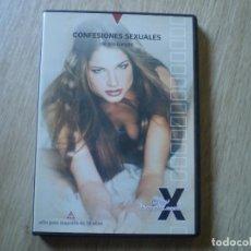 Cine: DVD PORNO. CONFESIONES SEXUALES. ORIGINAL. PERFECTO VISIONADO. Lote 194591510