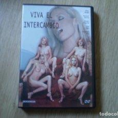Cine: DVD PORNO. VIVA EL INTERCAMBIO. ORIGINAL. PERFECTO VISIONADO. Lote 194591588