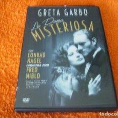 Cine: LA DAMA MISTERIOSA / GRETA GARBO / DESCATALOGADA. Lote 194594611