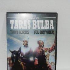 Cinéma: (DVS 12) TARAS BULBA - DVD SEGUNDA MANO TAPA FINA. Lote 194598453