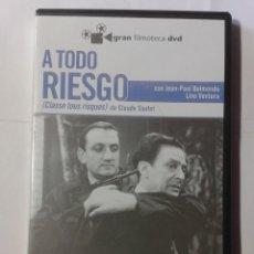Cine: A TODO RIESGO- CLAUDE SAUTET- DVD . Lote 194608725