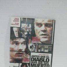 Cine: (DVS 13) ANTES QUE EL DIABLO SEPA QUE HAS MUERTO- DVD SEGUNDA MANO TAPA FINA. Lote 194608915