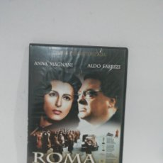 Cine: (DVS 13)ROMA CIUDAD ABIERTA - DVD SEGUNDA MANO TAPA FINA. Lote 194617318