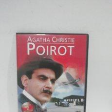 Cine: (DVS 13) ÁGATA POIROT VOL4- DVD SEGUNDA MANO TAPA FINA. Lote 194617421
