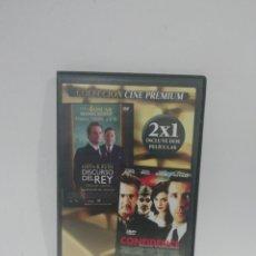 Cine: (DVS 15) EL DISCURSO DEL REY - DVD SEGUNDA MANO TAPA FINA. Lote 194623730
