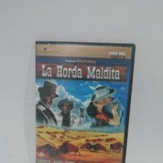 Cine: (DVS 15) LA HORDA MALDITA - DVD SEGUNDA MANO TAPA FINA. Lote 194623922