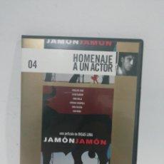 Cine: (DVS 15)JAMÓN JAMON - DVD SEGUNDA MANO TAPA FINA. Lote 194623981