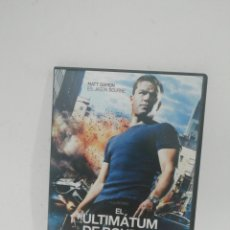 Cine: (DVS 15) EL ULTIMÁTUM DE BOURNE - DVD SEGUNDA MANO TAPA FINA. Lote 194624218