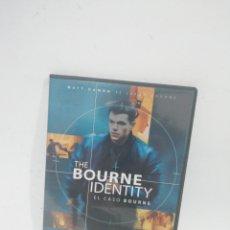 Cine: (DVS 15) THE BOURNE IDENTY- DVD SEGUNDA MANO TAPA FINA. Lote 194624458