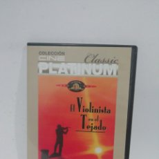 Cine: (DVS 15)EL VIOLINISTA EN EL TEJADO - DVD SEGUNDA MANO TAPA FINA. Lote 194624646