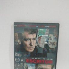 Cine: (DVS 16) EL ESCRITOR - DVD SEGUNDA MANO TAPA FINA. Lote 194625443