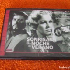 Cine: SONRISA DE UNA NOCHE DE VERANO / INGMAR BERGMAN / DVD DESCATALOGADA. Lote 194630263