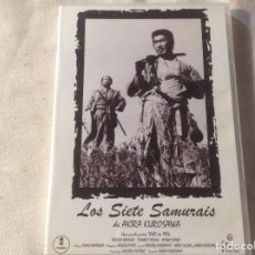 Cine: LOS SIETE SAMURAIS - DVD - FILMAX - AKIRA KUROSAWA . Lote 194642188