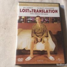 Cine: DVD LOST IN TRANSLATION BILL MURRAY SCARLETT JOHANSSON. Lote 194642417