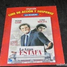Cine: DVD - LA GRAN ESTAFA - RICHARD GERE - ALFRED MOLINA - 2007. Lote 194645956