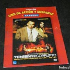 Cine: DVD - TENIENTE CORRUPTO - NICOLAS CAGE - EVA MENDES - 2010. Lote 194645980