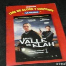Cine: DVD - EN EL VALLE DE ELAH - TOMMY LEE JONES - SUSAN SARANDON - CHARLIZE TERON. Lote 194645983