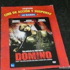 Cine: DVD - DOMINO - TONY SCOTT - MICKEY ROURKE - KEIRA KNIGHTLEY - EDGAR RAMIREZ - 2006. Lote 194646005
