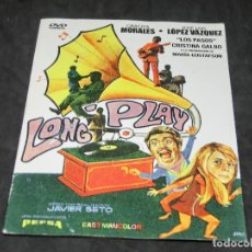 Cine: DVD - LONG PLAY - GRACITA MORALES - JOSE LUIS LÓPEZ VÁZQUEZ - 1968 LONGPLAY. Lote 194646037