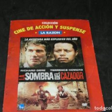 Cine: DVD - LA SOMBRA DEL CAZADOR - RICHARD GERE - TERRENCE HOWARD - 2008. Lote 194646053