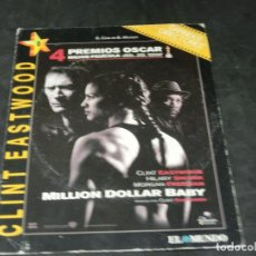 Cine: DVD - MILLION DOLLAR BABY - CLINT EASTWOOD - HILARY SWANK - MORGAN FREEMAN. Lote 194646081