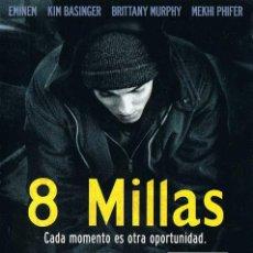 Cine: 8 MILLAS. EMINEM. KIM BASINGER. DVD. Lote 194648133