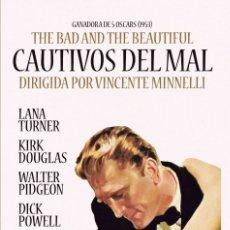 Cine: CAUTIVOS DEL MAL - THE BAD AND THE BEAUTIFUL (NUEVO). Lote 194651036