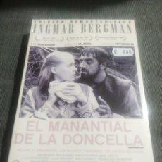 Cine: EL MANANTIAL DE LA DONCELLA (UN FILM DE INGMAR BERGMAN) INCLUYE LIBRETO EXCLUSIVO. Lote 194652387