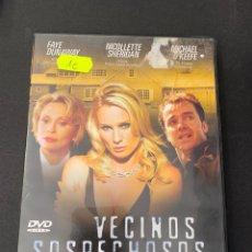 Cine: (14247) VECINOS SOSPECHOSOS ( DVD SEGUNDA MANO ). Lote 194660928