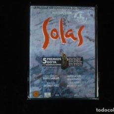 Cine: SOLAS - CON MARIA GALIANA Y ANA FERNANDEZ - DVD NUEVO PRECINTADO. Lote 194662830
