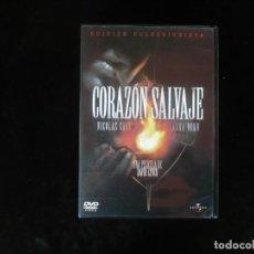 Cine: CORAZON SALVAJE - DVD COMO NUEVO . Lote 194663922