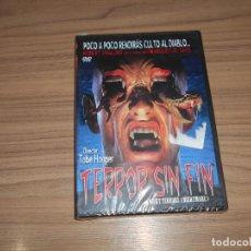 Cine: TERROR SIN FIN NIGHT TERRORS (NIGHTMARE) DVD DE TOBE HOOPER NUEVA PRECINTADA. Lote 222644410