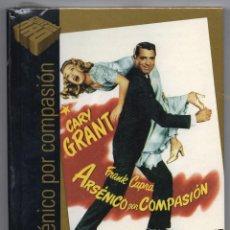 Cine: ARSÉNICO POR COMPASIÓN. DVD + LIBRO, NUEVO. PRECINTADO. FRANK CAPRA. CINE DE ORO EL PAÍS. Lote 194686203