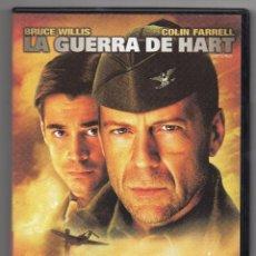 Cine: LA GUERRA DE HART. DVD. CON BRUCE WILLIS. Lote 194686872