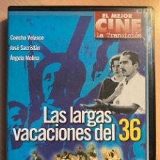 Cine: LAS LARGAS VACACIONES DEL 36 (DVD). Lote 194694395
