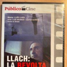 Cine: LLACH: LA REVOLTA PERMANENT (DVD). Lote 194694466