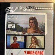 Cine: Y DIOS CREO A LA MUJER (DVD). Lote 194694650