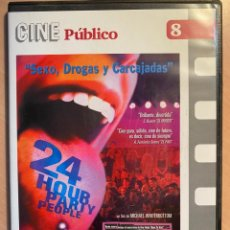 Cine: 24 HOUR PARTY PEOPLE (DVD). Lote 194694910