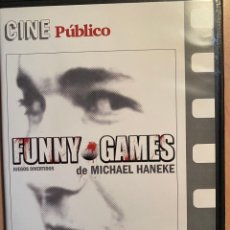 Cine: FUNNY GAMES (DVD). Lote 194695213