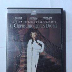 Cinéma: EL CREPUSCULO DE LOS DIOSES- EDICION ESPECIAL COLECCIONISTA- BILLY WILDER-DVD. Lote 194720187
