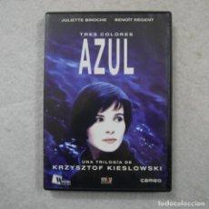 Cine: TRES COLORES. AZUL. PROTAGONIZADA POR JULIETTE BNOCHE Y BENOIT REGENT - DVD . Lote 194723990