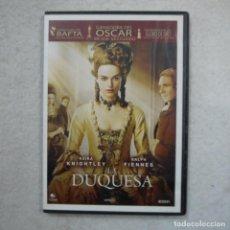 Cine: LA DUQUESA. INTERPRETADA POR KEIRA KNIGHTLEY Y RALPH FIENNES - DVD . Lote 194724545