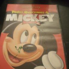 Cine: DVD TODOS QUEREMOS A MICKEY. Lote 194731566