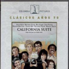 Cine: CALIFORNIA SUITE DVD (DE NEIL SIMON) CON FAMOSOS ACTORES..UNA PANDILLA DE TRUHANES Y VIVIDORES.... Lote 194736086