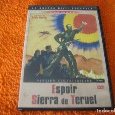 Cine: RAREZAS DEL CINE ESPAÑOL ESPOIR SIERRA DE TERUEL / GUERRA CIVIL ESPAÑOLA / . Lote 194739331