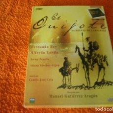 Cine: RAREZAS DEL CINE ESPAÑOL / EL QUIJOTE / ALFREDO LANDA / FERNANDO REY. Lote 194740010
